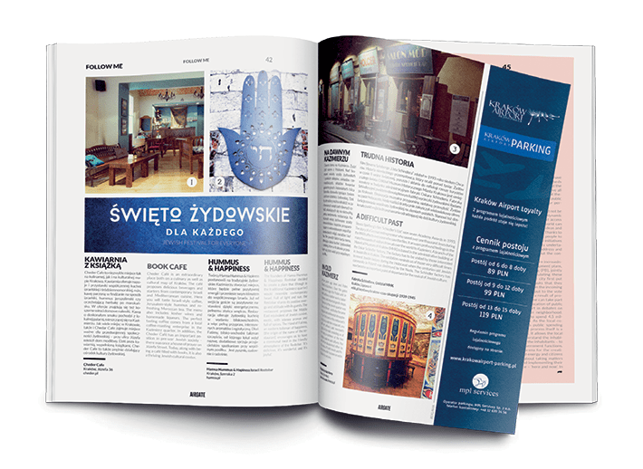 Airgate magazine for Cracow airport 2