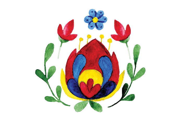 Polish ornament for Independent Leeds magazine